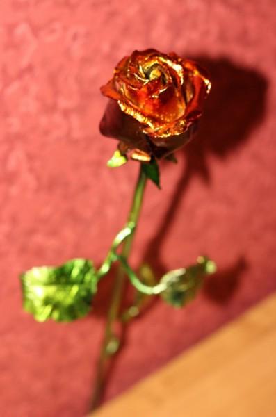 незабываемый подарок- кованая роза