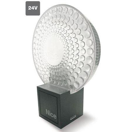 Nice ML24T. Лампа сигнальная с антенной, белая, 24В