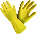 NINA, хозяйственная ЛАТЕКСНАЯ перчатка, для хозяйственных и общепроизводственных работ, инд. упаковка, длина 35 см.