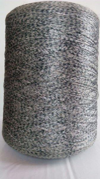 Фото  1 Нитки для коврового оверлока серая плямистая 2134555