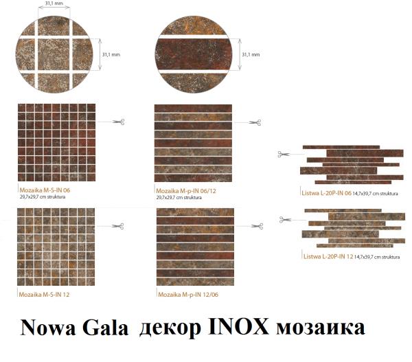 INOX Nowa Gala MOZAIKI