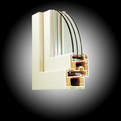 Новинка!!Елитные окна Саламандер стримлайн-7камер для загородных домов.