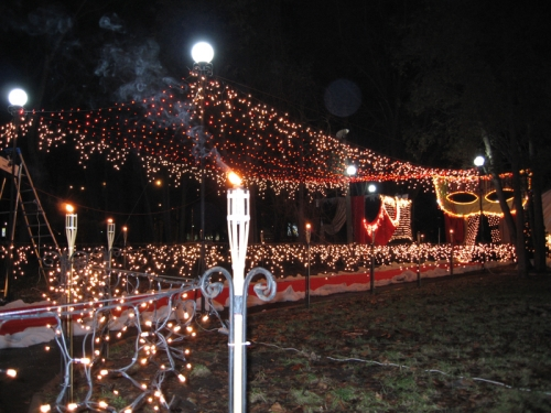Новогоднее и праздничное световое оформление.Украшение улиц и площадей, админ. зданий, офисов, ресторанов, клубов