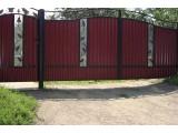 Ворота из профнастила днепропетровск
