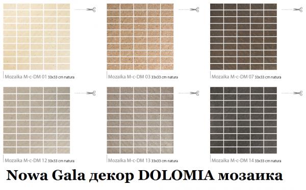DOLOMIA Nowa Gala MOZAIKI