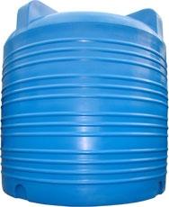 Объем 3000 л. Материал: полиэтилен. Цвет: стандарт – синий.