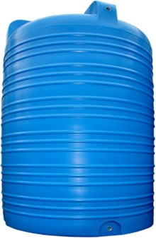 Объем 5000 л. Материал: полиэтилен. Цвет: стандарт – синий.