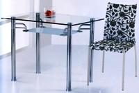 Обеденные стеклянные толы B123, кухонные столы B123 из стекла, фото, стеклянные столы B123 для кухни