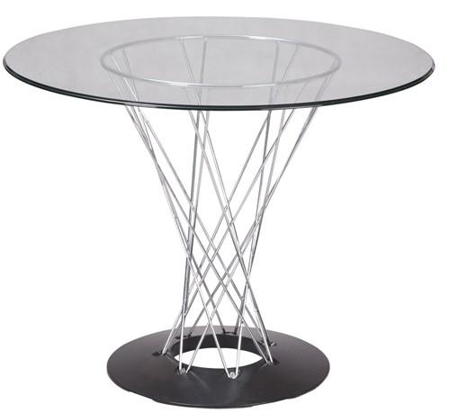 Обеденный стол Ног, круглый стеклянный стол Ног для кафе, дома, бара , офиса