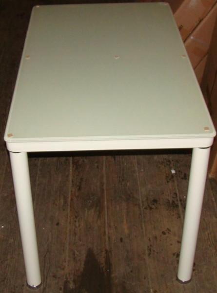 Обеденный стол TB076-3 черный, кремовый, белый, шампань, стеклянный стол TB076 белый купить Киеве