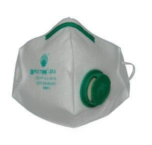 Обеспечивает коэффициент защиты по высокодисперсным аэрозолям до 50 ПД, по грубодисперснийной пыли до 500 ПДК.