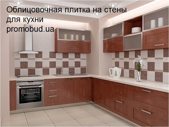 облицовочная плитка на стены для кухни - фото