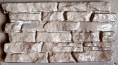 """ОБЛИЦОВКА ФАСАДОВ """" Сланец"""" камень стеновой 400 x 200 х 30 мм"""