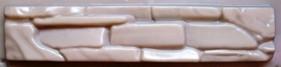 """ОБЛИЦОВКА ФАСАДОВ """" Сланец"""" камень стеновой 485 x 100 х 30 мм"""