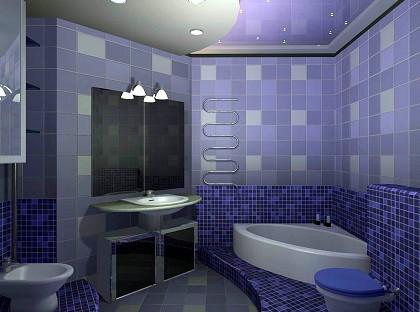 Облицовка кафельной плиткой (стены) м2 - 150грн