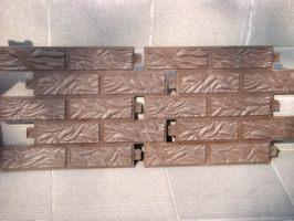 Облицовочная плитка полимерпесчаная от 70 грн. за м2.