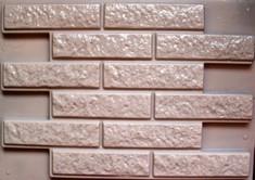 """ОБЛИЦОВОЧНЫЙ КАМЕНЬ """"Фагот"""" камень стеновой 645 х 450 х 28 мм (р-р 1-го = 260 х 70)"""