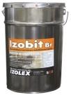 Обмазочная гидроизоляция - грунт Izobit BR (Изобит БР)- битумно-каучуковая мастика