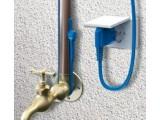 Обогрев труб,кабель двужильный  фторопластовый безмуфтовый со встроенным термостатом и вилкой 10 Вт/м Hemstedt FS 1м.