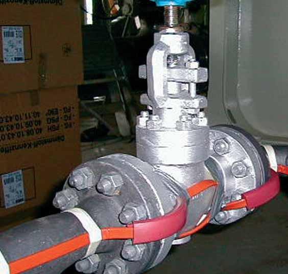 Защита от замерзания трубопроводов