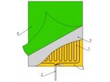 Обогреватель зеркала Теплолюкс-mirror 60*50 см 0,3 м2 50 Вт