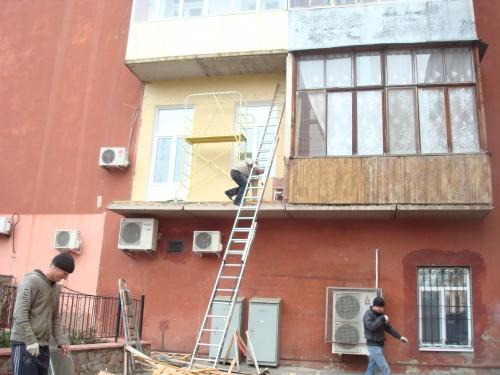 Оборудование и ремонт балконов