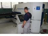 Обработка листового металла на координатно-пробивном станке