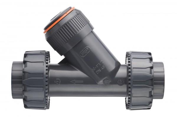 Обратный клапан из ПВХ, d25, PN16