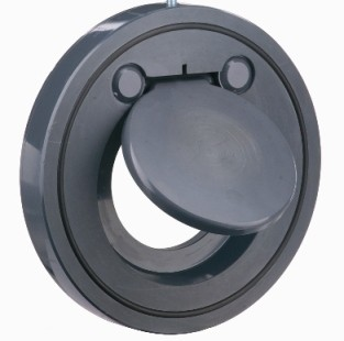 Обратный клапан межфланцевый из ПВХ d90