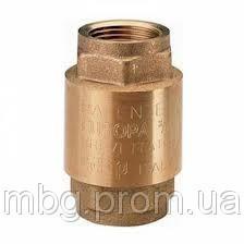Обратный клапан пружинный, с латунным штоком, ITAR 3/4