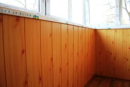 Обшивка балконов услуги