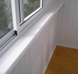Обшивка балконов внутри и снаружи