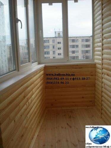 Обшивка деревянной вагонкой, или деревом