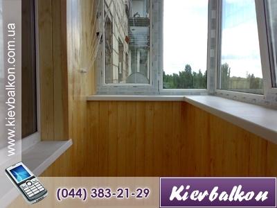 Обшивка внутренняя деревянной вагонкой (сосна первый сорт - живой сучек) (в стоимость входит материал и работа)