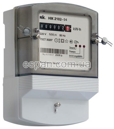 Однофазный электросчетчик «НИК 2102»