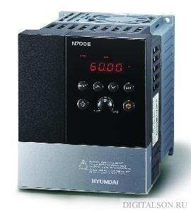 Однофазный векторный частотный преобразователь – Hyundai N700E-022SF