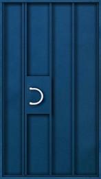 металлическая дверь однолистовая
