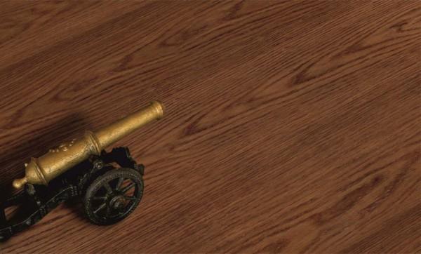 Однополосный Дуб какао_браш лак ширина 165 мм