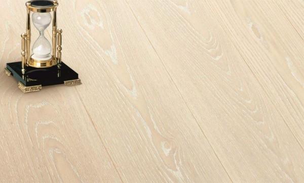 Однополосный Дуб карамель белый пигмент_браш лак ширина 165 мм