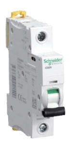 Однополюсные автоматические выключатели сети Schneider