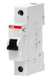 Фото  1 Автоматический выключатель ABB 1p, 50A, C, SH201-C50 2079298