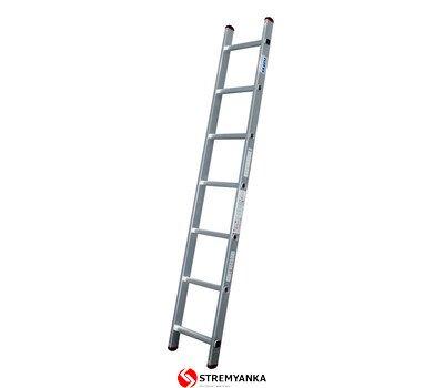 Фото  1 Односекционная лестница Corda® KRAUSE 7 ступеней 2234195