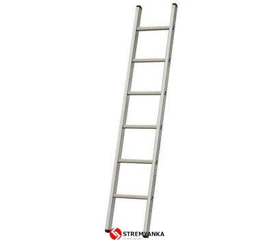 Фото  1 Односекционная лестница Sibilo® KRAUSE 6 ступеней 2234194