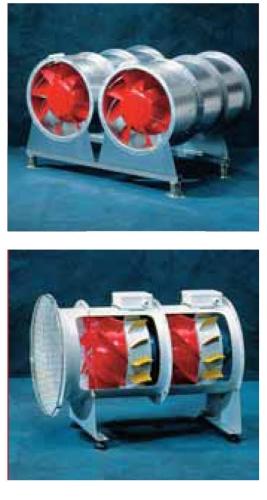 Одноступенчатые канальные вентиляторы высокого давления VAR