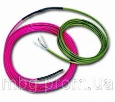 Одножильный нагревательный кабель HL SC 17W-80, 7,5-10,0кв. м, 80м,1360/1440W
