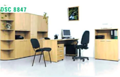 Офісні меблі. Комплект офісний (столи, шафи) Web: www. room. lviv. ua