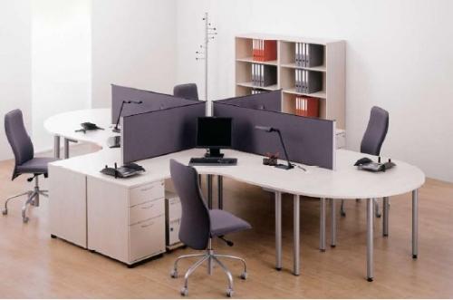 Офисные перегородки алюминиевые настольные (экраны)