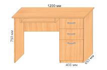 Офисный стол Е18