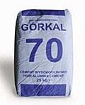 Огнестойкий высокоглиноземистый цемент Gorkal 70 Б