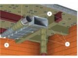 Огнезащитная плита фольгированная CONLIT 150 A/F (КОНЛИТ 150 A/F) , толщина 70мм